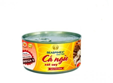 Canned Tuna in Spicy Sauce