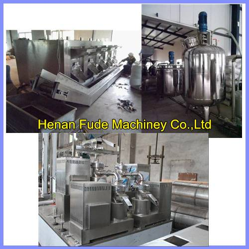 high quality peanut butter processing line 500kg/h