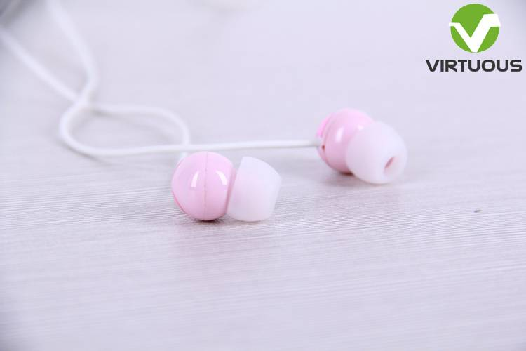 Five color optional mp3 in ear stereo earphones high quality