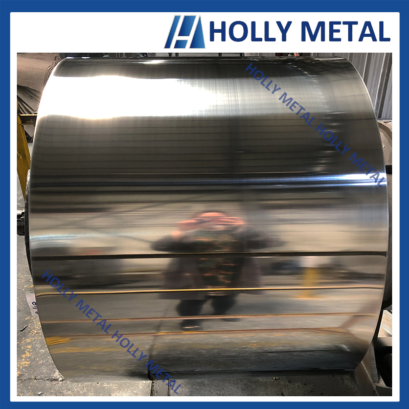 Cold Rolled Stainless Steel Coil 201 BA Surface Polished