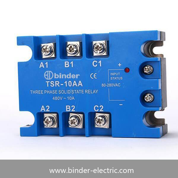 Three phase solid state relay TSR-120AA