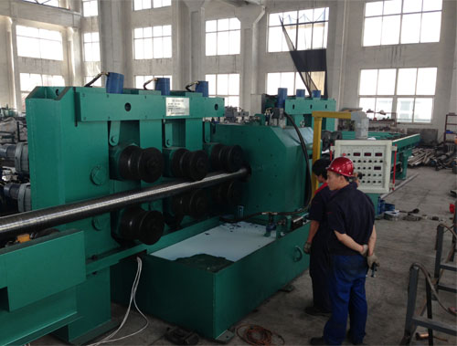 Bright steel bar making machines