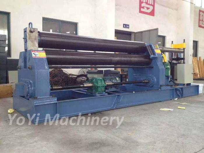 W11-16x2500 mechanical 3 roller bending machine