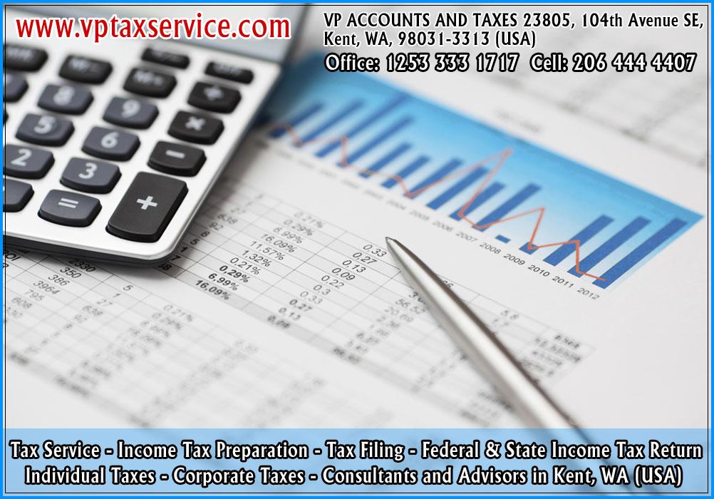 Income tax preparation service kent wa seattle