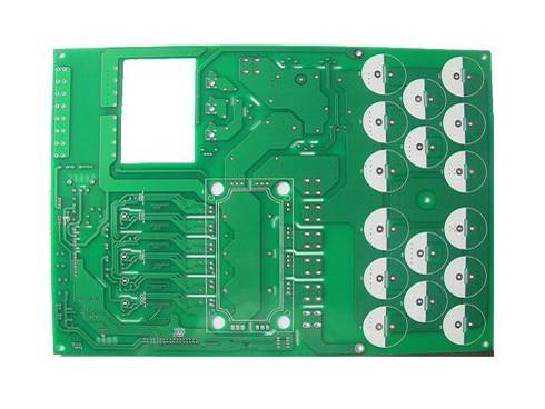 Double-sided PCB for electronic