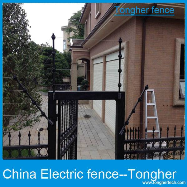 Angola powerful 14KV security electric fencing system protect house in safe