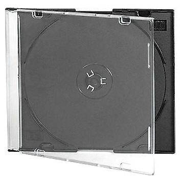 5.2mm slim cd case with black tray