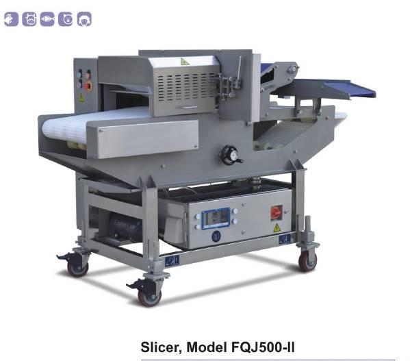 Made in China Fresh Meat Slicer Model FQJ500-II