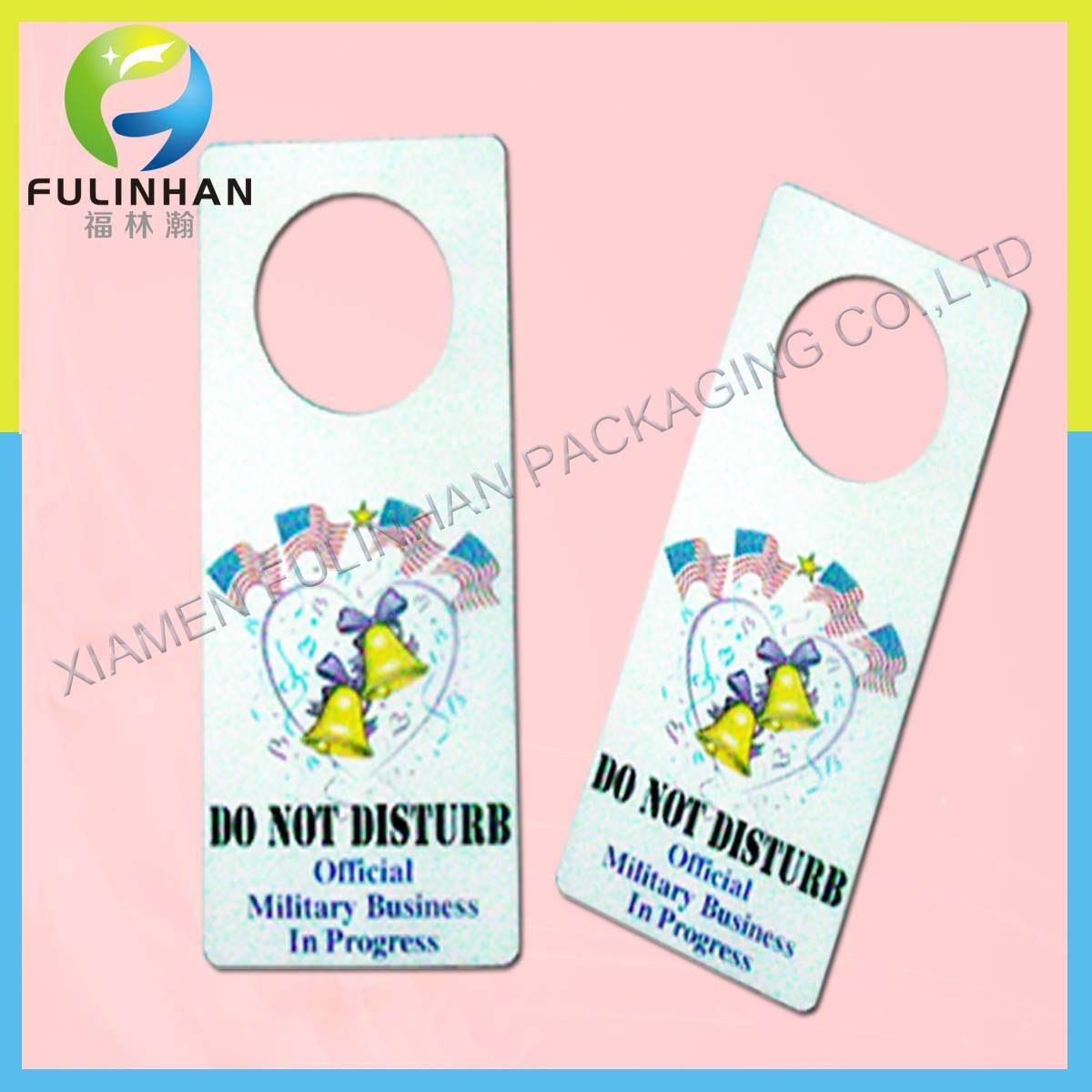 Plastic Card,door hanger,custom plastic door hanger