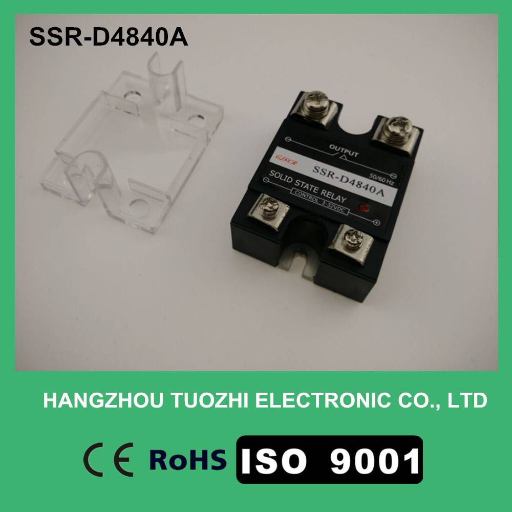 40a solid state relay dc ac SSR-D4840A