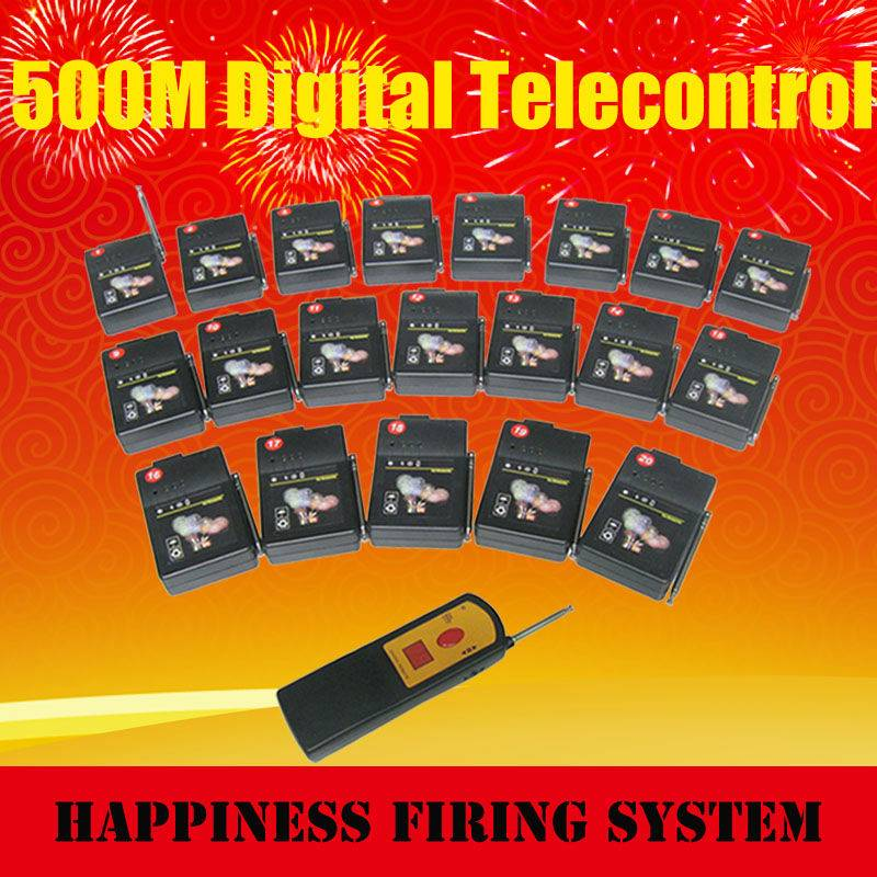 Hot sale+1 digital remote with 20 receivers+ sequential fire firing system+adjust different time