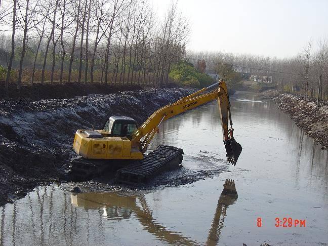 Sell Amphibious Excavators