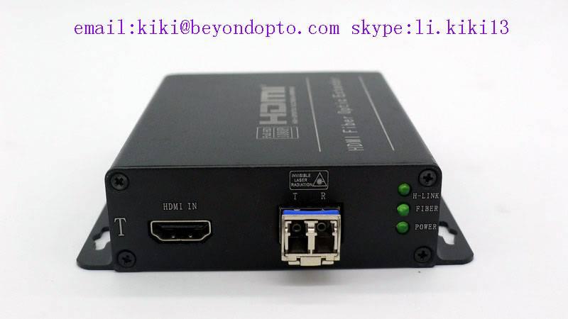 4k HDMI extender to fiber optic ,up to 300(MM)10km(SM)