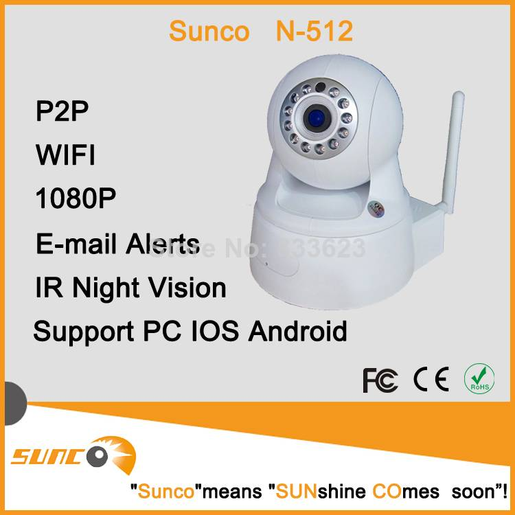 2MP home security wireless IP camera / keep an eye on your baby&nanny