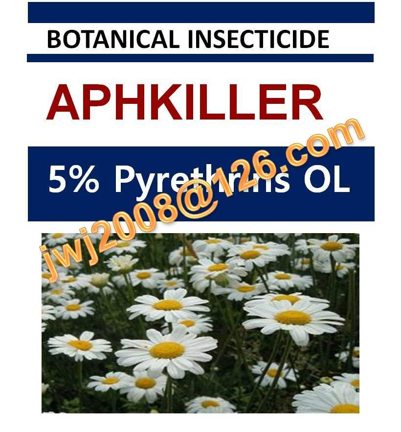 5% Pyrethrins OL, biopesticide, organic insecticide, natural botanical plant extract