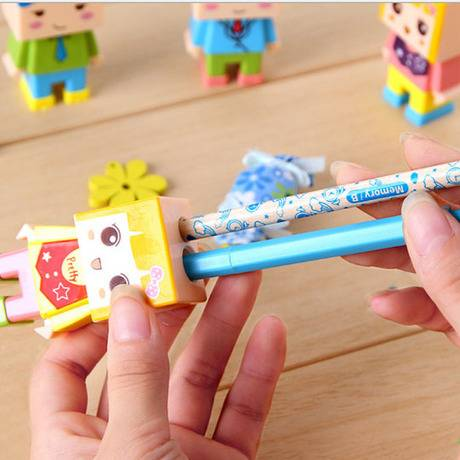 Cartoon mouse pencil sharpener