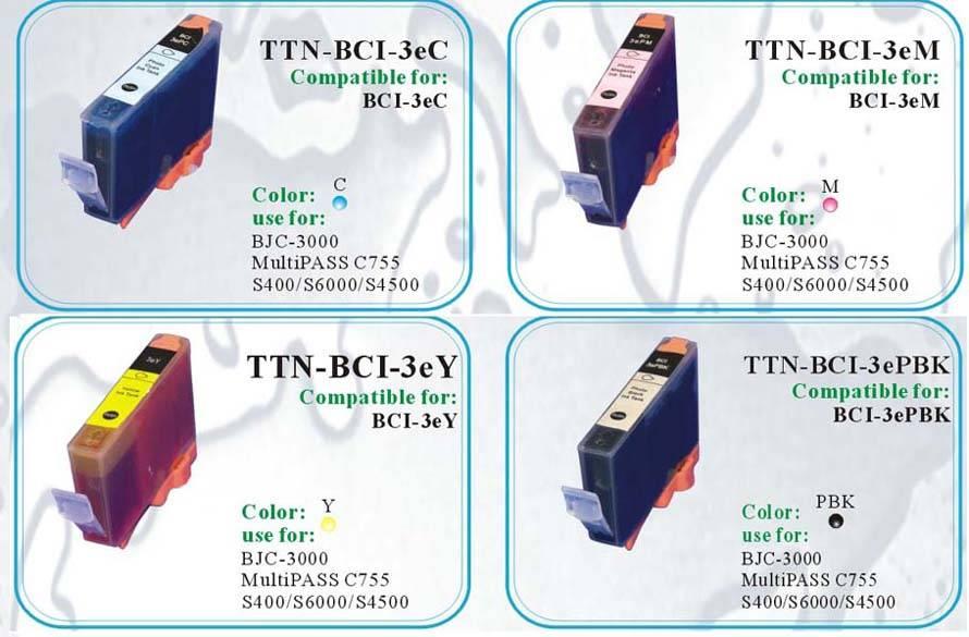 Compatible Cartridges For Canon p3