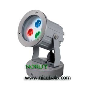 RGB LED Garden Landscape Lighting 9W Edision Lamp DMX