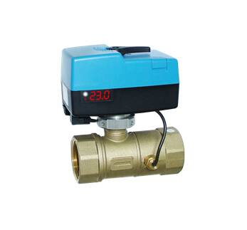 Flow Balancing Control Valve for HVAC System