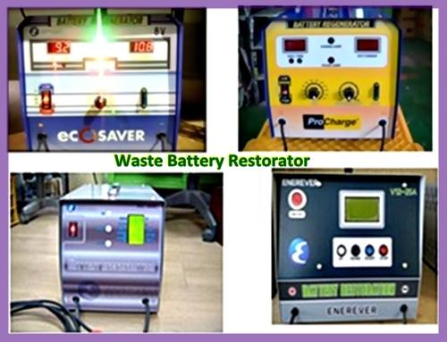 Batteries restorator