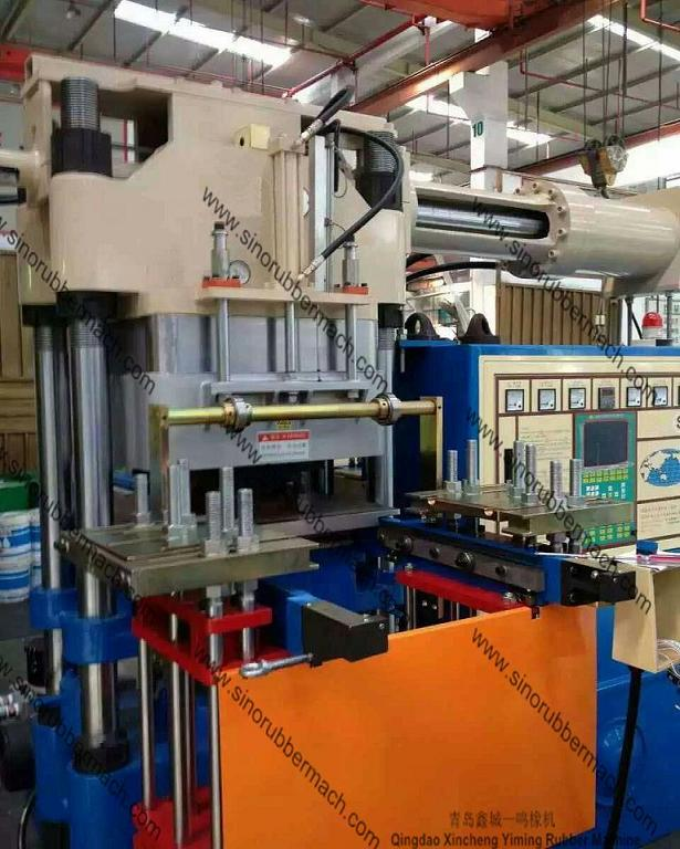 Vacuum Rubber Injection Molding Machine