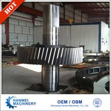 Big Size Steel Gear And Shaft