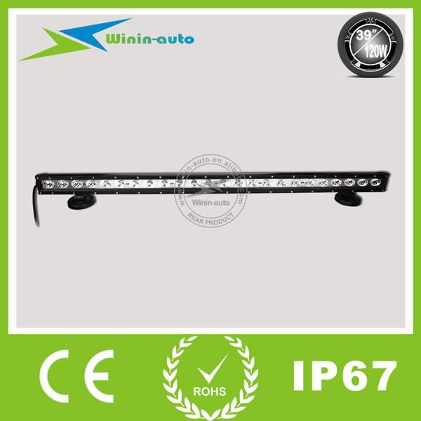 39 120W 1 Row LED work light bar for ATV Truck 10800 Lumen WI9012-120