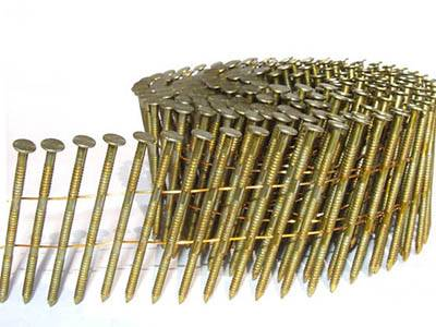 15/16 Degree Galvanized Coil Nails