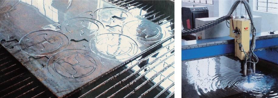 CNC underwater plasma cutting machines