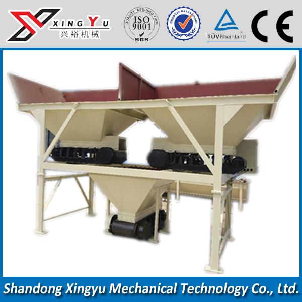 Concrete batching plant machines