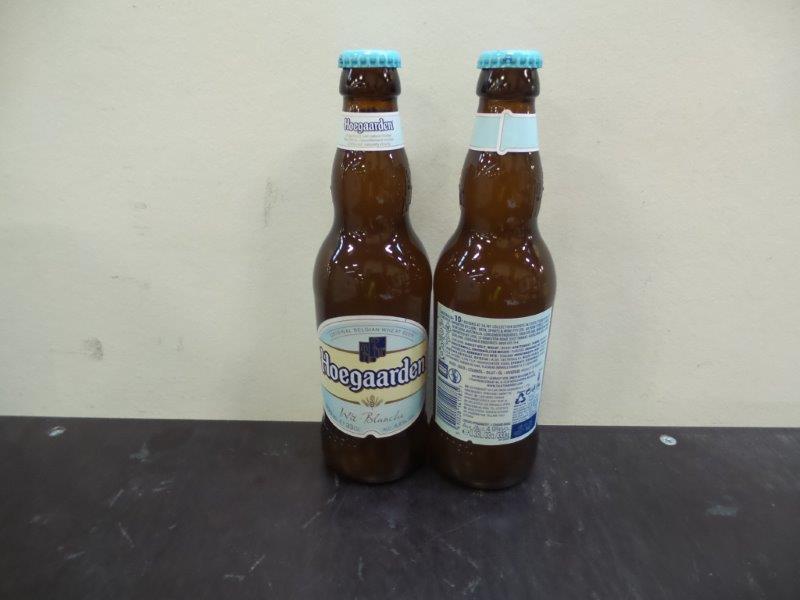 Hoegaarden white/blanche beer 24x33cl bottles