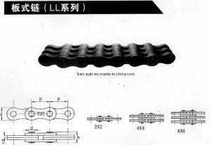 Fashion and Low Price Ll Series Leaf Chains