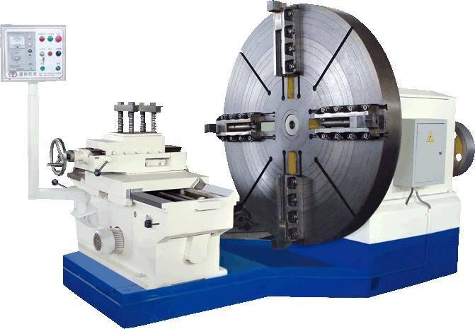 New China Roll / Rotor / Drum Turning Conventional Horizontal Lathe Machine