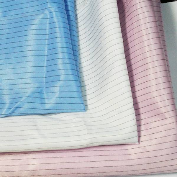 ESD fabric for cleanroom