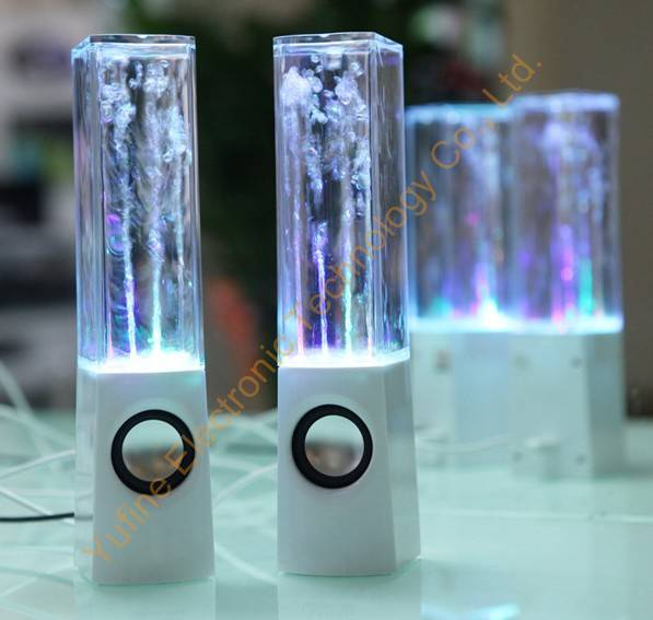 Offer dancing water speaker, computer speaker, gift dance water speaker, fountain speaker, geyser s