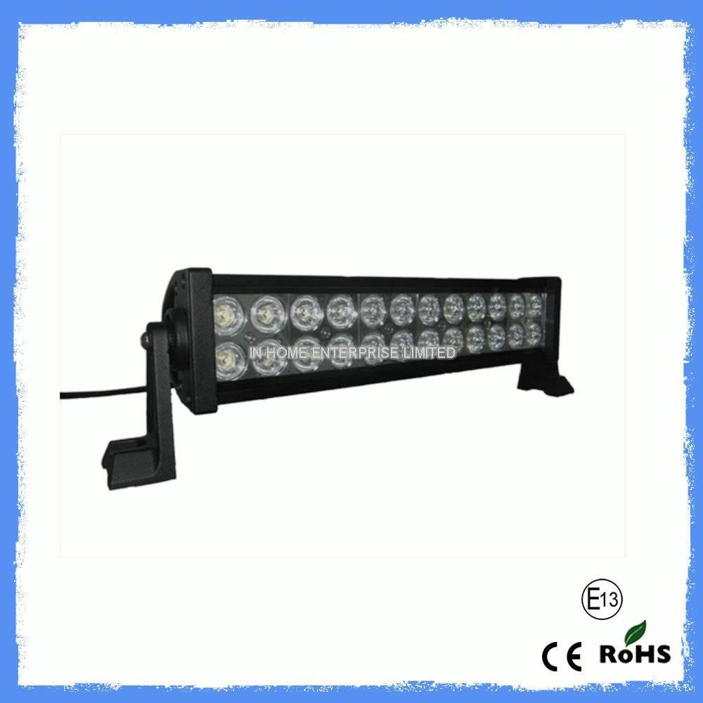 7200lm Flush Mount Off Road 72W LED Light Bar for Trucks , Vehicle , Automotive