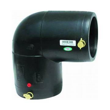 Electrofusion 90 degree elbow pipe fitting