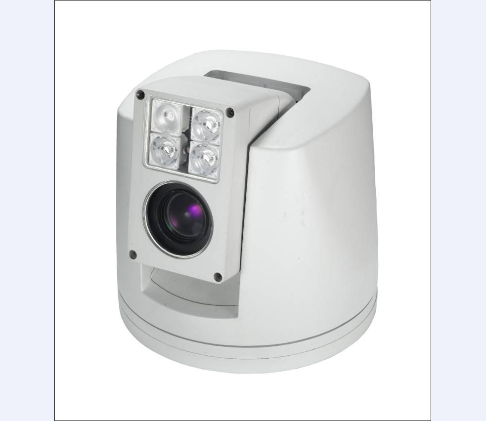 Vehicle PTZ Camera with Light Source