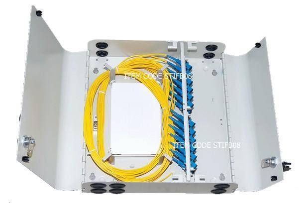 Indoor Fiber Optical Distribution Box, Floor PLC Splitter Box, Wall Mounted ODF with PLC 1:16 Core