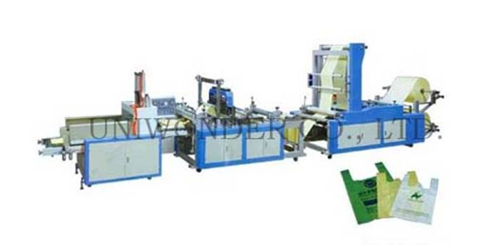 RT-F Model Non-woven Fabrics Vest Bag Making Machine