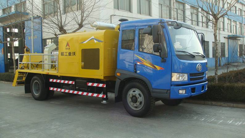 china Truck-mounted Concrete Station