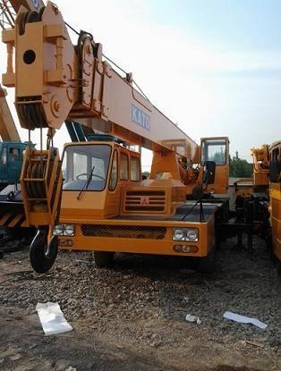 Used KATO NK-250E Fully Hydraulic Truck Crane