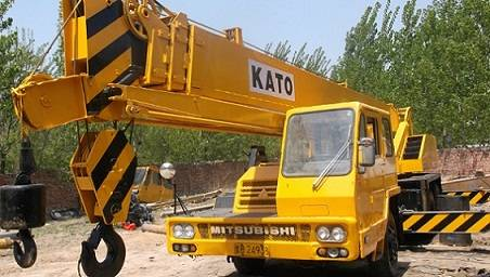 KATO NK-250E Fully Hydraulic 25Tons Truck Crane Technical