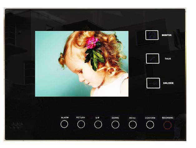 5.6'' Color Video Door Phone With DVR Function