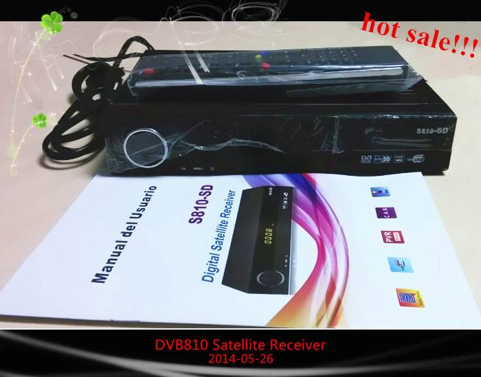 HOT FTA HD DVB810 satellite receiver USB PVR