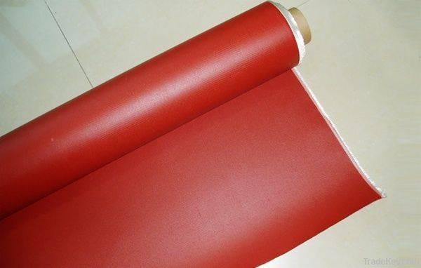 China manufacturer silicone rubber coated fiberglass cloth
