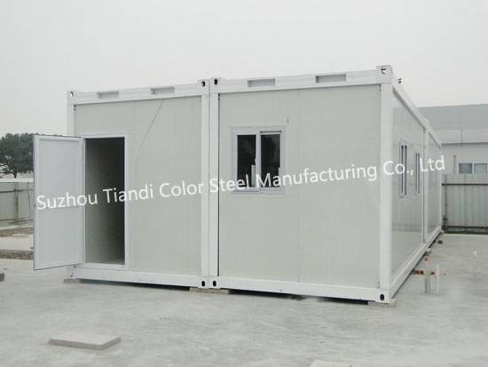 Steel container home
