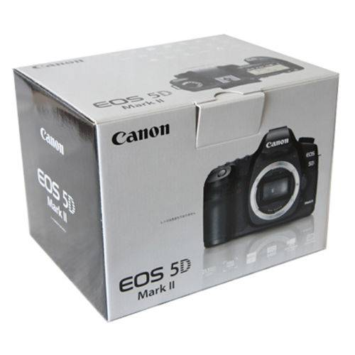 Canon EOS 5D Mark II 21.1 MP Digital SLR Camera (Body Only) - Black