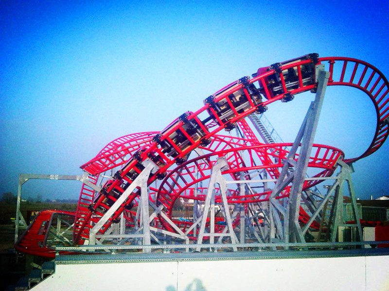 Roller Coaster, family rides for theme park best selling