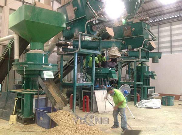 biomass pellet production line (2ton/h)